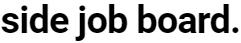 Side Job Board